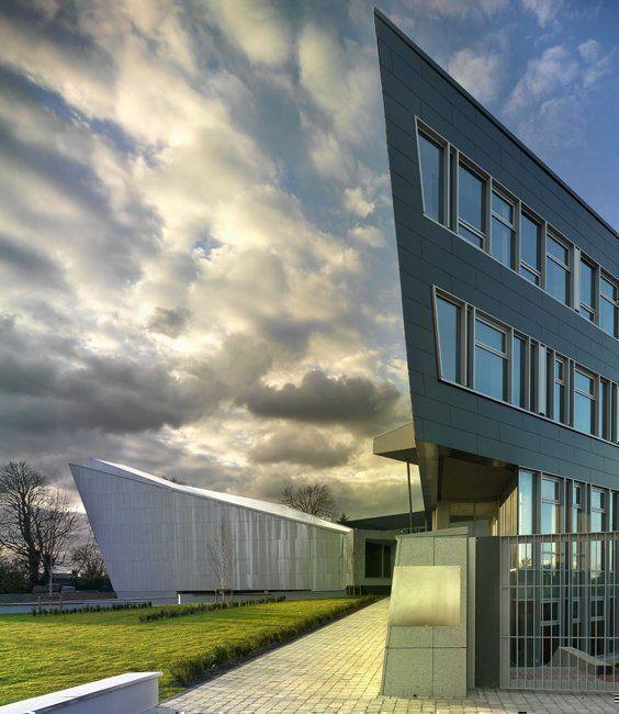 Exterior, Oficinas cívicas para Clare County Council, Irlanda