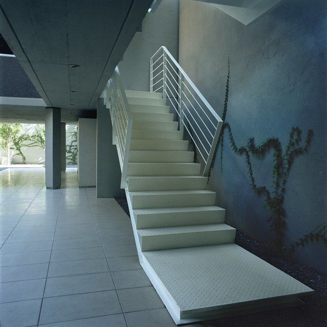 Edificio de viviendas en colegiales arqa - Escaleras de hormigon armado visto ...