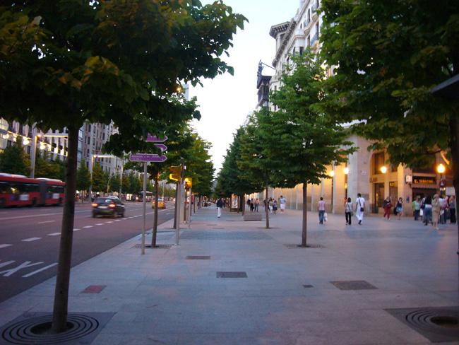 Proyecto de Remodelación de La Plaza de España, Paseo de La Independencia y Plaza de Aragón