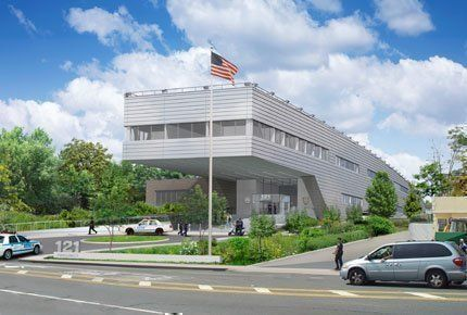 121st Police Precinct Stationhouse by Rafael Viñoly