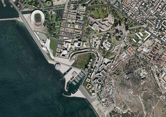 Sant-Elia a Cagliari_masterplan