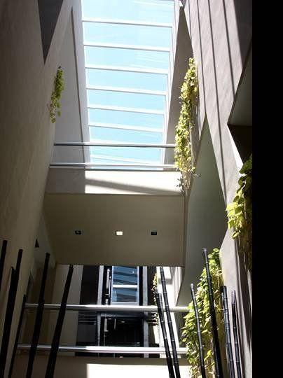 Lucernario patio interior