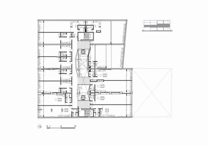 Plantas 1° y 2° piso