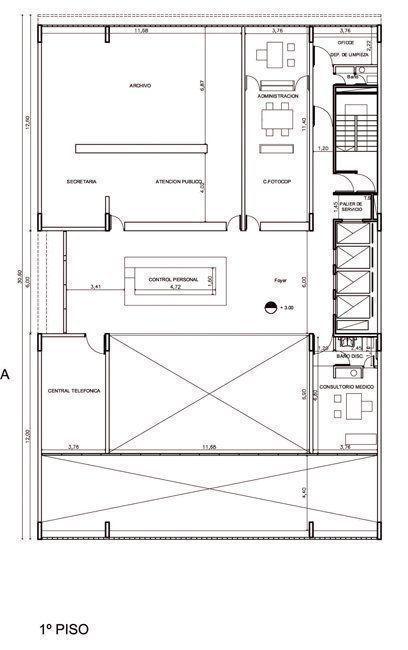 planta, primer piso