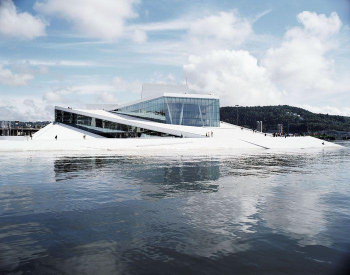 Ópera y Ballet Nacional de Noruega, Oslo, de Snøhetta
