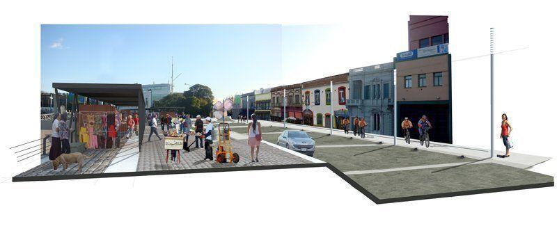 Rambla - Feria transitoria