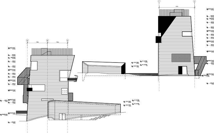 Elevation north and east