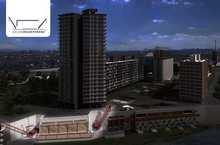 Grúas del Paraná tendrá capacidad para 1.800 personas en 2.700 m2