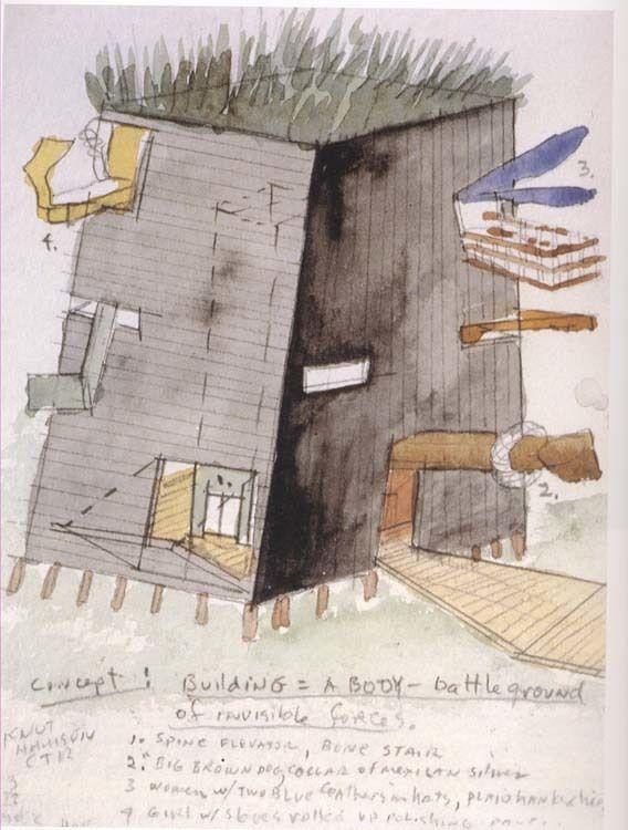 Concept sketch exterior