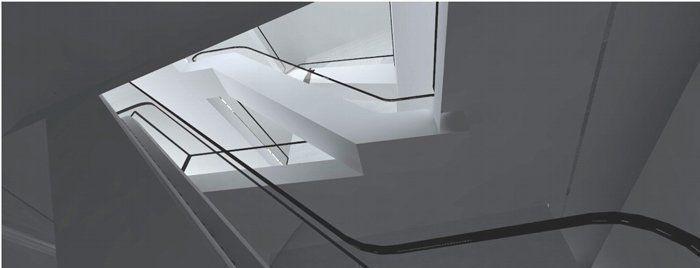 Hall, escaleras