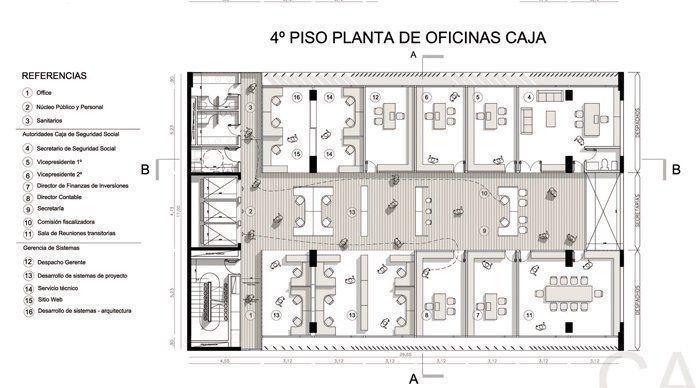 Planta cuarto piso