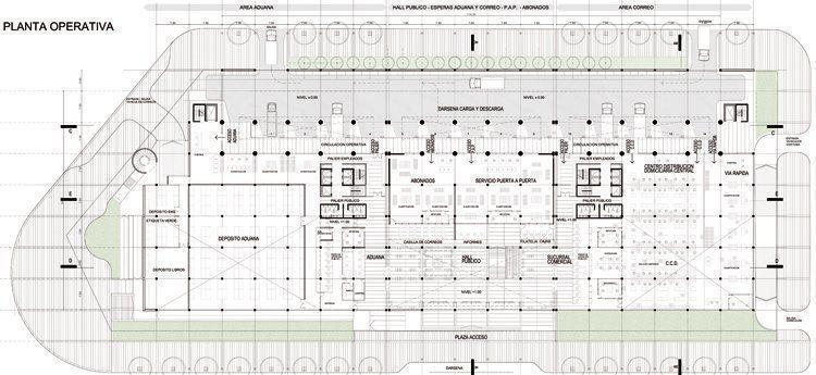 Sede correo oficial de argentina 3er premio arqa for Arquitectura tecnica a distancia
