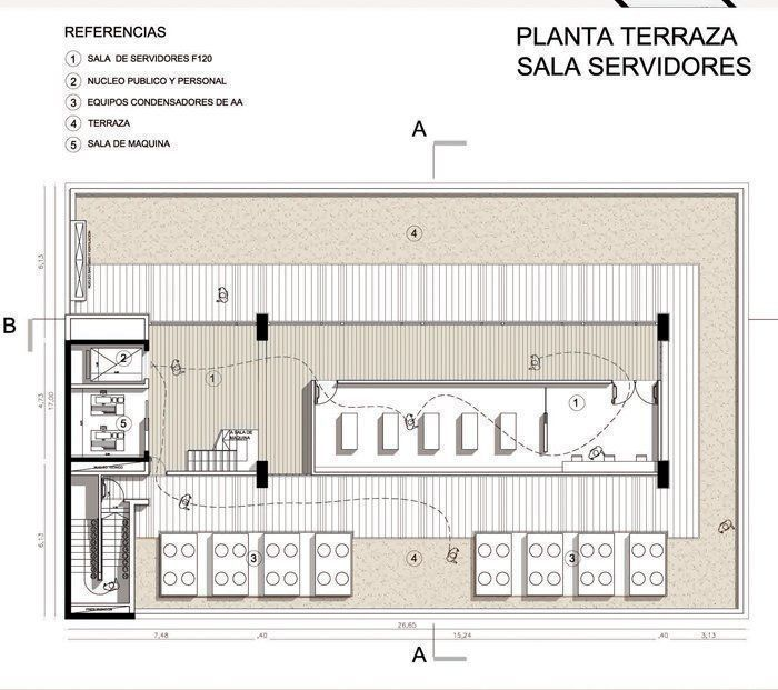 Planta terraza
