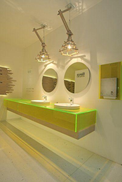 Pisos Para Baños Publicos:Baños Públicos: Espacio N°42 Casa FOA 2009 – ARQA