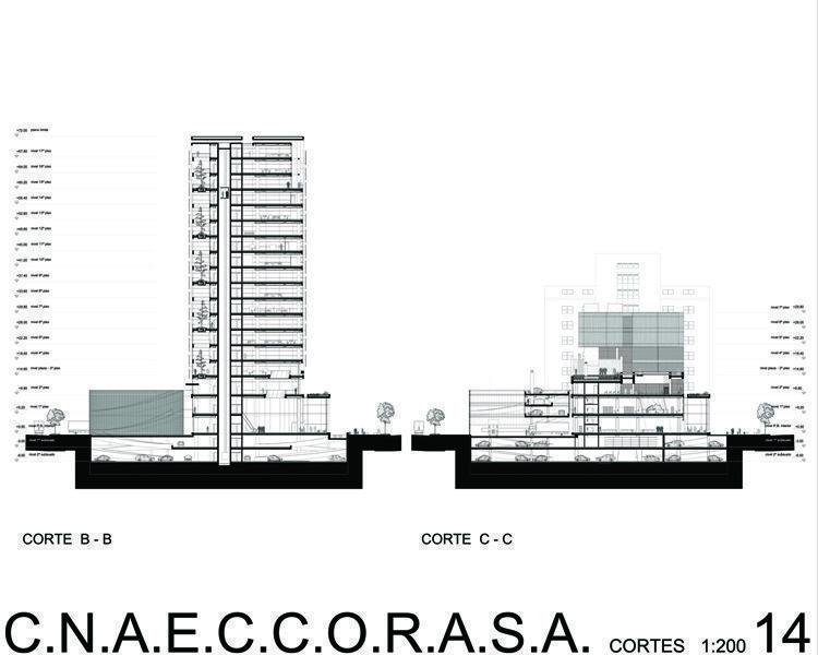 Cortes B-B / C-C