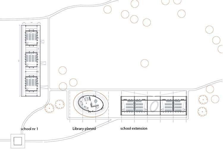 Floor plan, build version