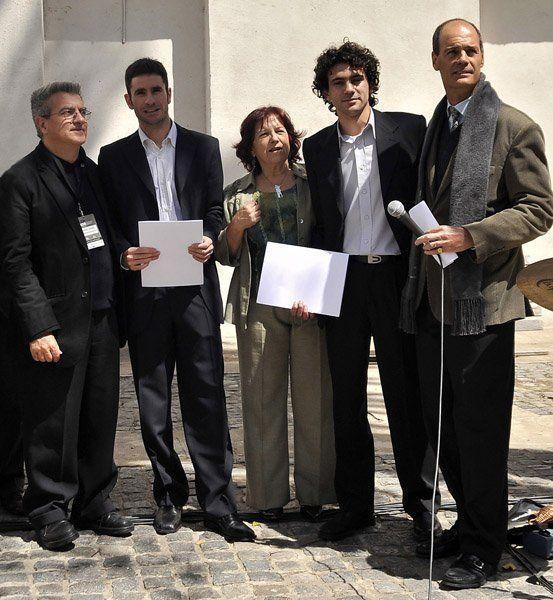 4. R Converti -Cayc-, A Olivero, N de Arbetman -APAER-, E Muñoz, R Saenz Valiente -CEDU-