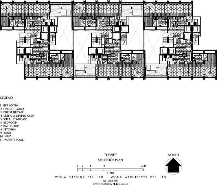 54st floor plan