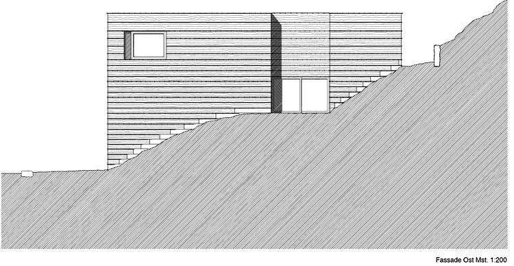 Elevation, East facade