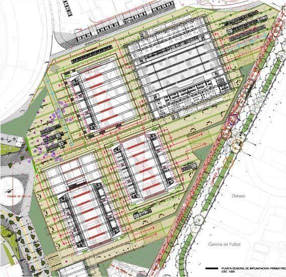 Plano urbano primer piso