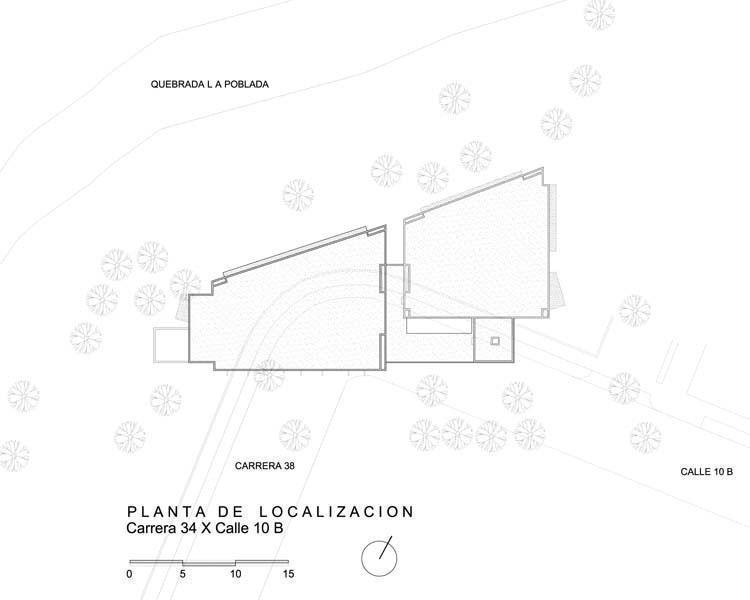 Planta de localización