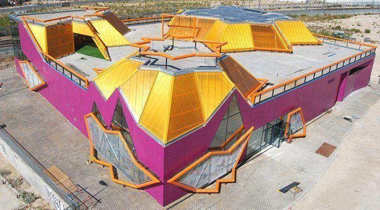 Nueva casa de la juventud en rivas vaciamadrid espa a arqa - Casas en rivas vaciamadrid ...