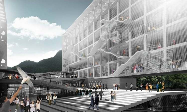 Image courtesy of the Office for Metropolitan Architecture (OMA)