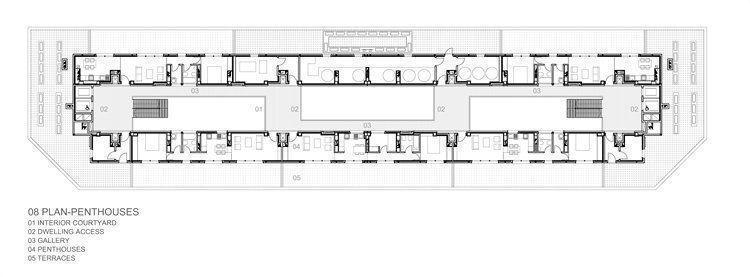 Plano penthouse