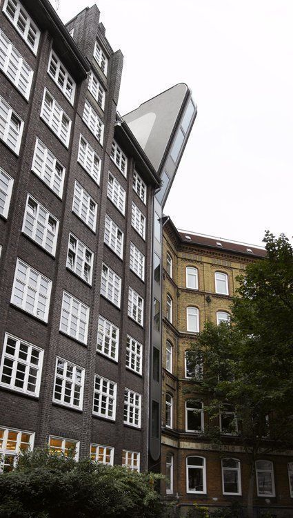 Backside View, Katharinenfleet, facade 1,9m