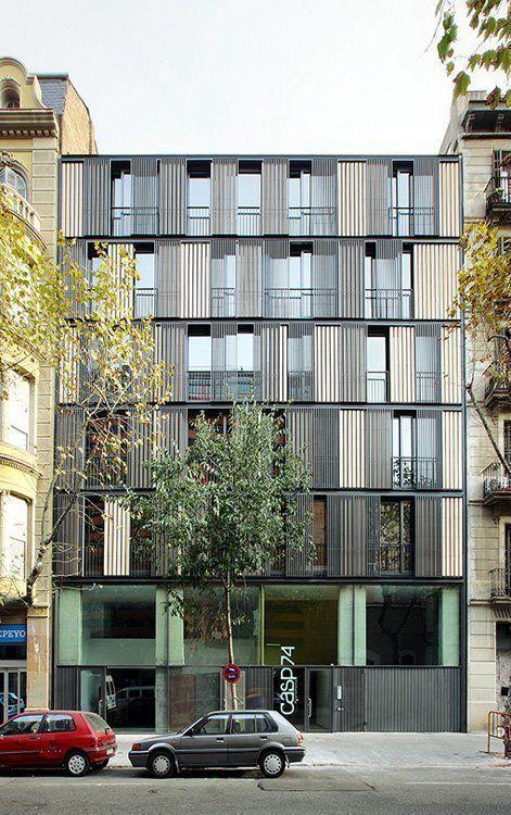 Edificio de viviendas casp 74 en barcelona arqa - Calle casp barcelona ...