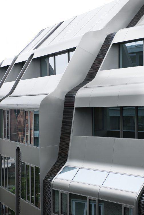 Detail View, Front Facade Steckelhörn