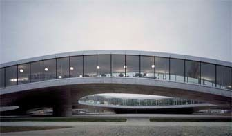 Rolex Learning Center in Lausanne, Switzerland