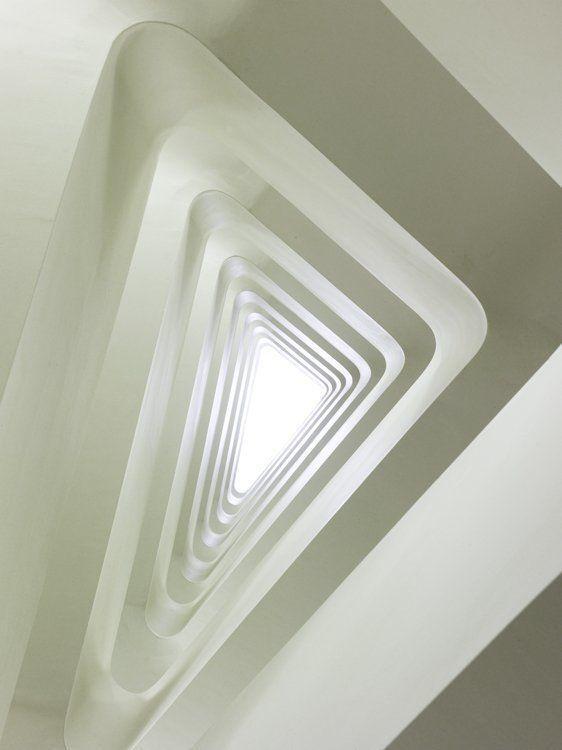 Main Stairs, View up
