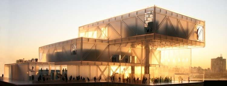 Translucent Model - Image courtesy of the Office for Metropolitan Architecture (OMA)
