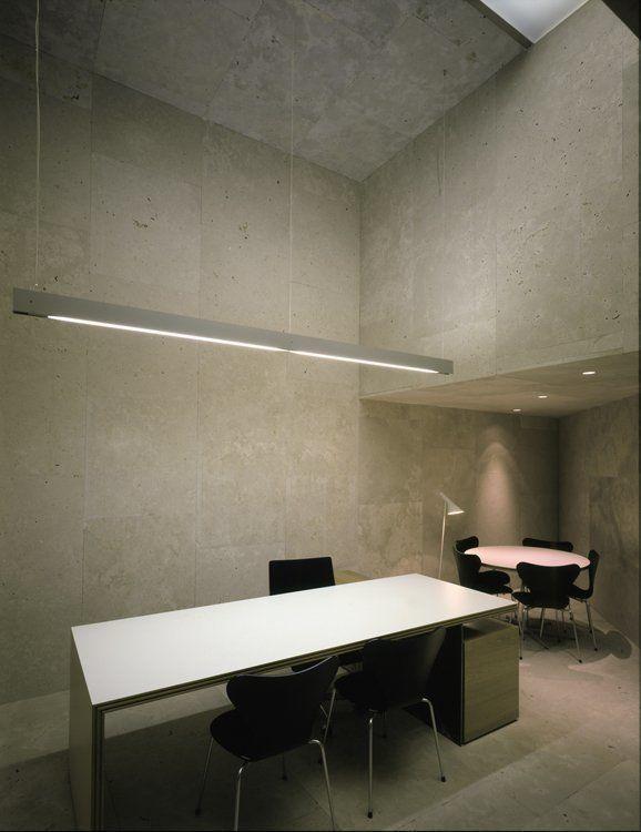 Arqa oficina caja de arquitectos en pamplona espa a for Caja madrid oficina de internet