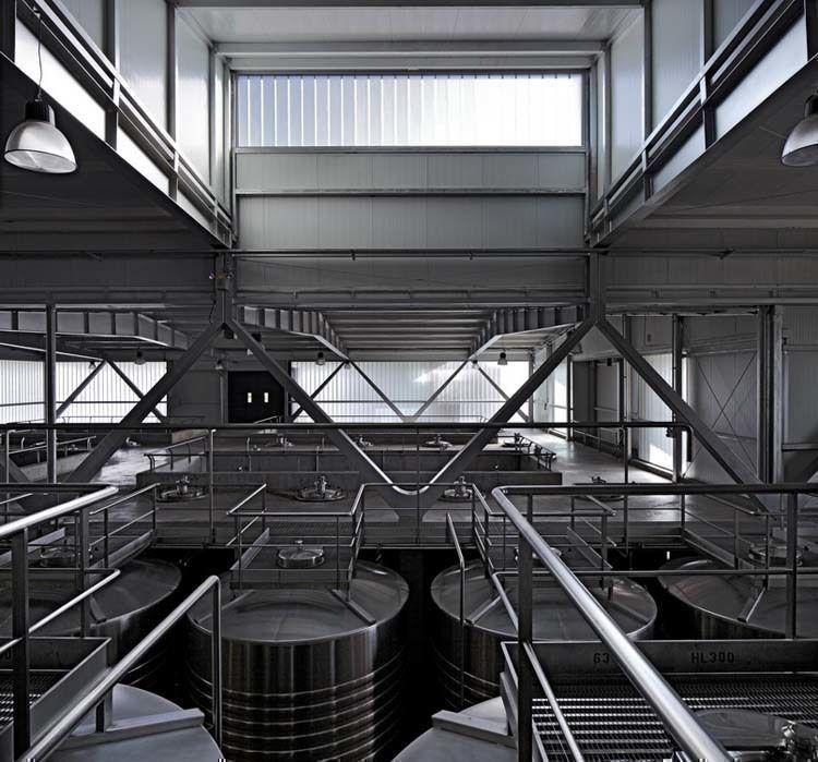 Naves de Fermentación - fotografía de Claudio Manzoni