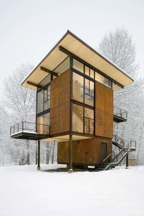 Fotografía de Tim Bies/Olson Kundig Architects