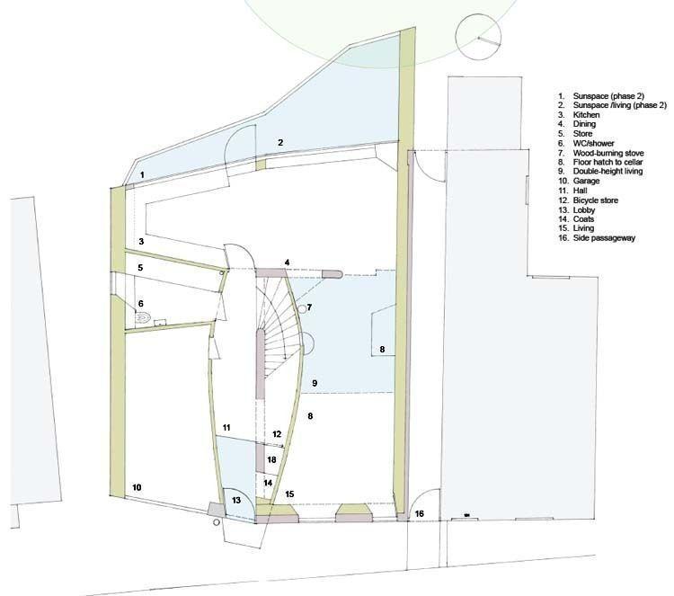 Ground floor & cellar plans