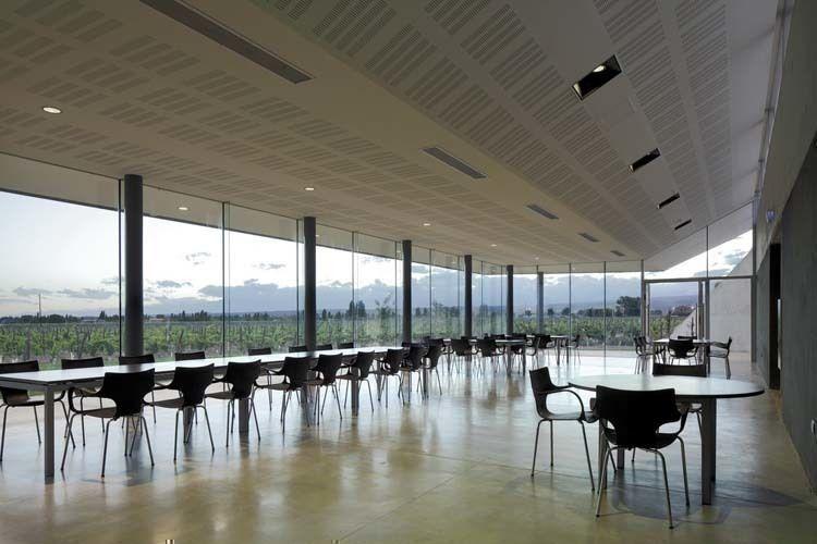 Edificio Comedor Staff - fotografía de Claudio Manzoni