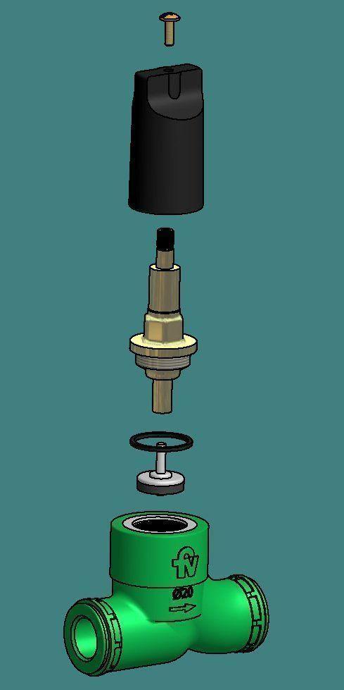 Fv presenta las nuevas llaves de paso para sistemas de for Llave de paso de agua