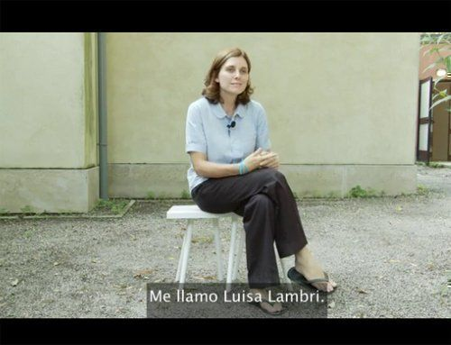 Studio Banana TV interviews Luisa Lambri