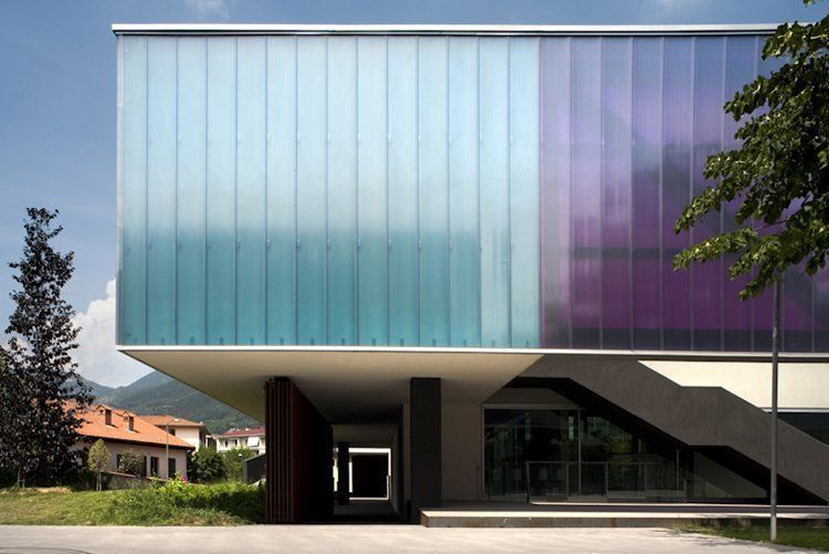 South facade