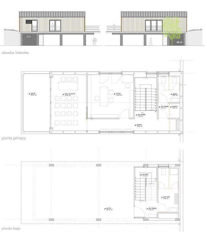 Planos casa concejil