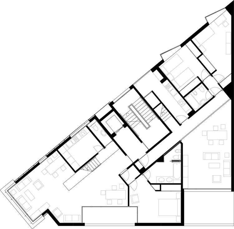 Edificio A, planta