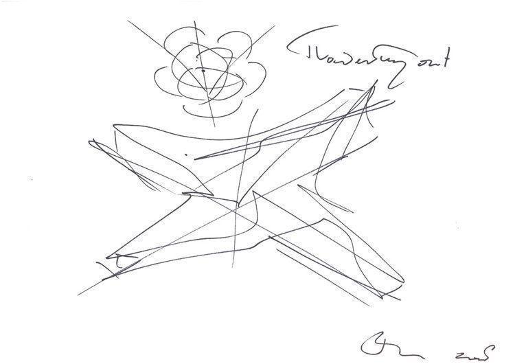 Sketch Ben van Berkel