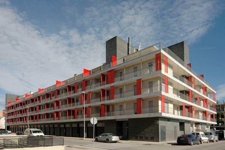 Arqa viviendas sociales en huesca espa a for Viviendas compartidas en madrid