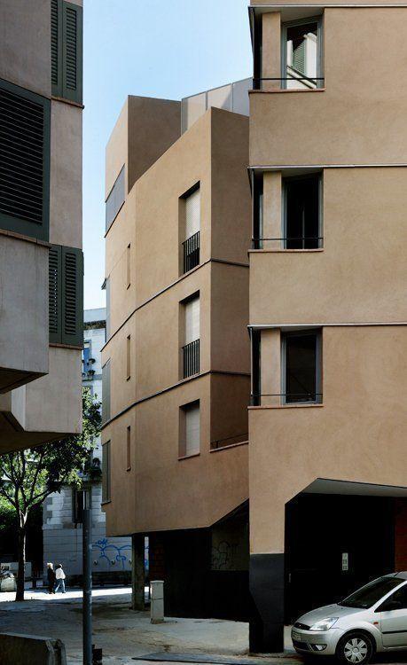 Arqa edificio de 18 viviendas de protecci n oficial - Pis proteccio oficial barcelona ...