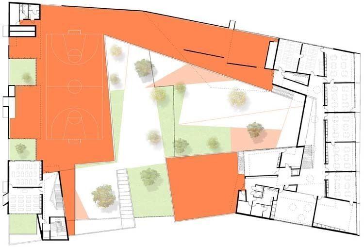 Floor plan, Level 0