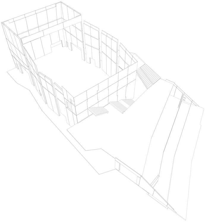 Axonometric Walls
