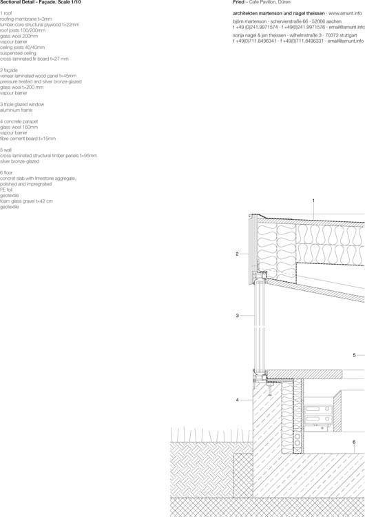 arqa caf pavilion in d ren germany. Black Bedroom Furniture Sets. Home Design Ideas